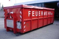 Abrollbehälter-Anschlagmittel Wache-5